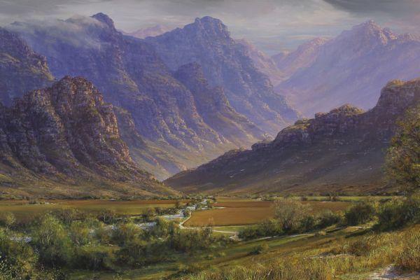Cape Autumn Light painting