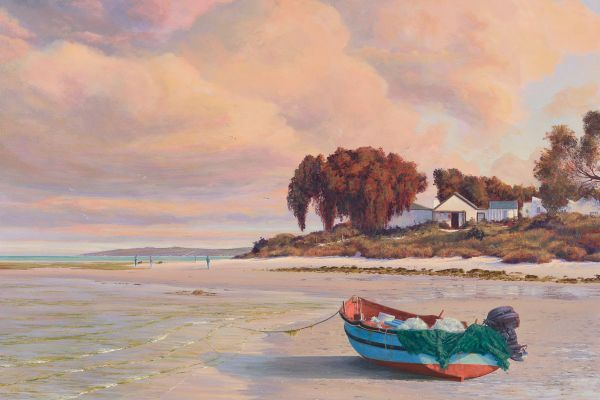 Time To Breathe, Churchhaven painting