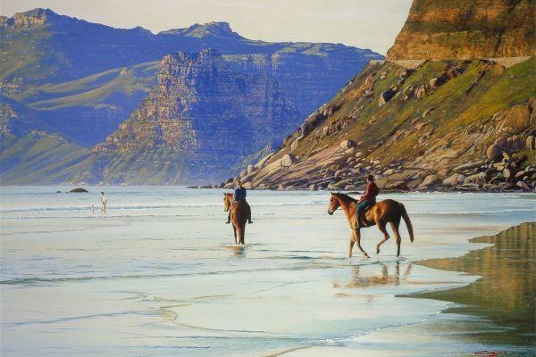 Noordhoek Beach, Kommetjie painting