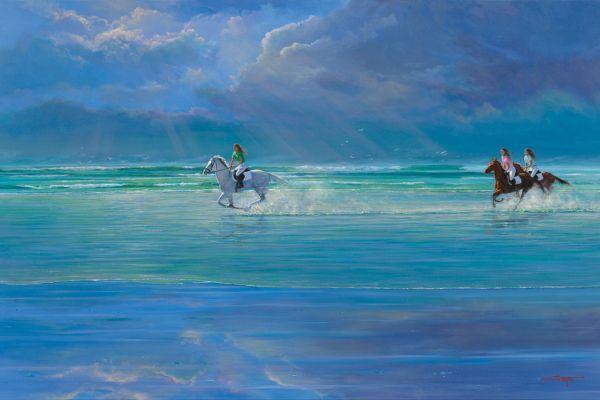Noordhoek Gallop painting