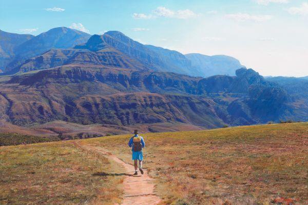 Drakensburg Hike painting