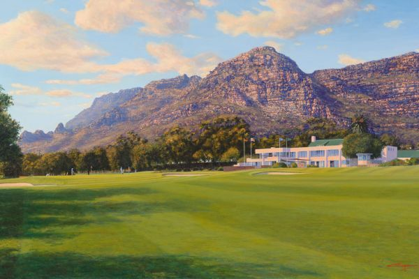 West Lake Golf Club painting