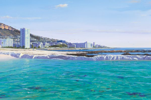 Seapoint Tidal Pool painting